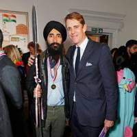 Waris Ahluwalia and Ben Elliot