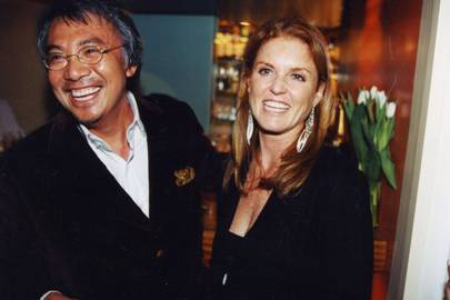 David Tang and Sarah, Duchess of York