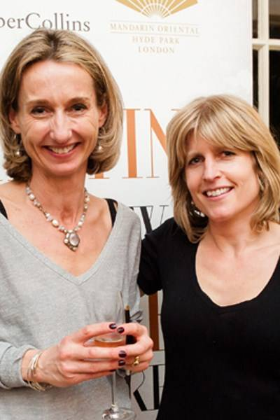 Daisy Waugh and Rachel Johnson