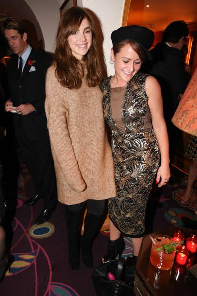 Suki Waterhouse and Jaime Winstone