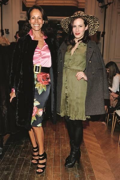 Andrea Dellal and Charlotte Dellal