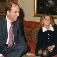 Robert Harris and Mrs Ned Warwick