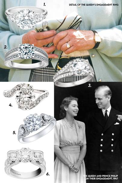 Queen Elizabeth II - Diamond Solitaire