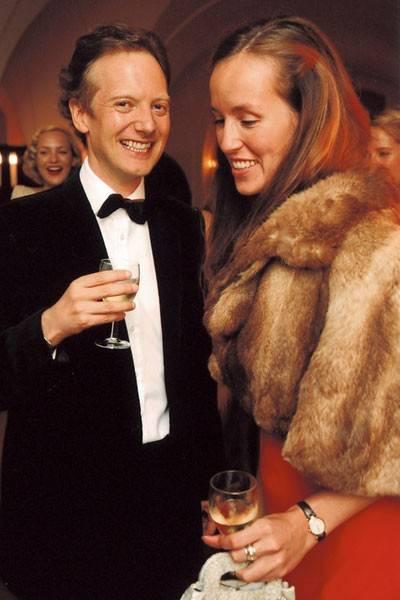 The Hon Aeneas Mackay and Lady Rosie Innes Ker
