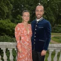 Alizée Thevenet and James Middleton