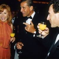 Stefanie Powers, Garth Bearman and Patrick De La Chesnaise