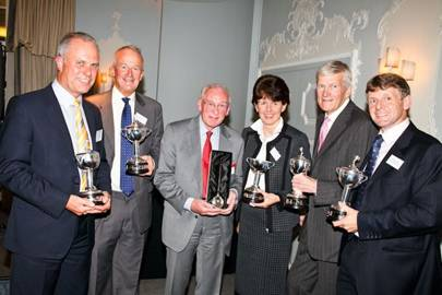 John Baugh, Hugh Cocke, Richard Townend, Emma McEndrick, Mark Pyper and Andrew Halls
