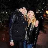 Alison Mosshart and Mary Charteris