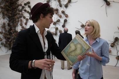 Robert Sheehan and Jodie Whittaker