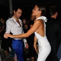 Mark-Francis Vandelli and Viscountess Weymouth