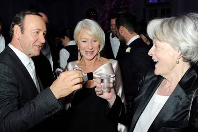 Kevin Spacey, Dame Helen Mirren and  Dame Maggie Smith