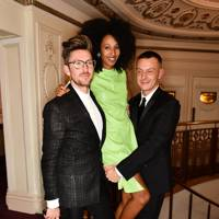 Henry Holland, Julia Sarr-Jamois and Jonathan Saunders