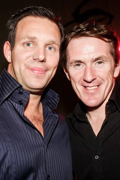 Paul Stewart and Tony McCoy