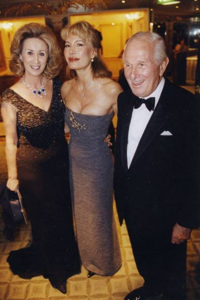Lady Wolfson, Donatella Flick and Lord Wolfson