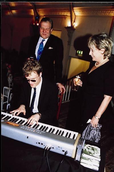 Derek Paravicini, Nic Paravicini and Mrs Nic Paravicini