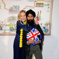 Ruth Ganesh and Waris Ahluwalia
