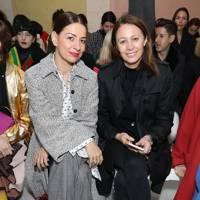 Yana Peel and Caroline Rush at Roksanda A/W18