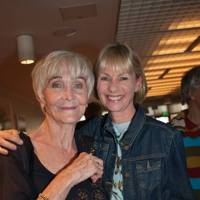 Sheila Hancock and Kate Mosse