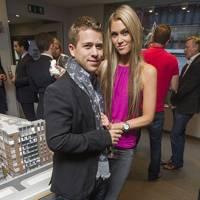 Jonny Dodge and Cassandra Harris