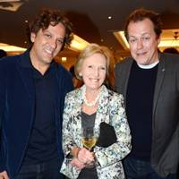 Giorgio Locatelli, Mary Berry and Tom Parker Bowles