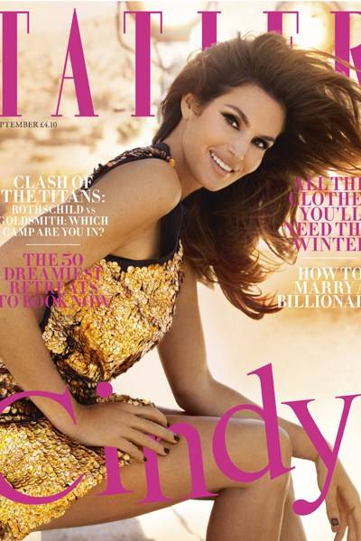 September - Cindy Crawford