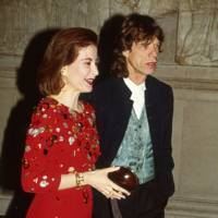 Begum Aly Aziz and Mick Jagger
