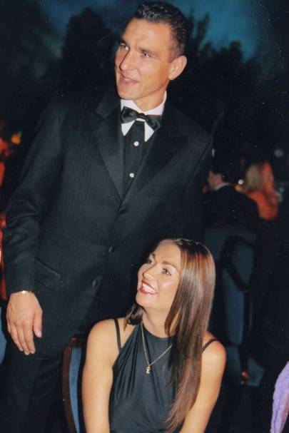 Vinnie Jones and Mrs Vinnie Jones