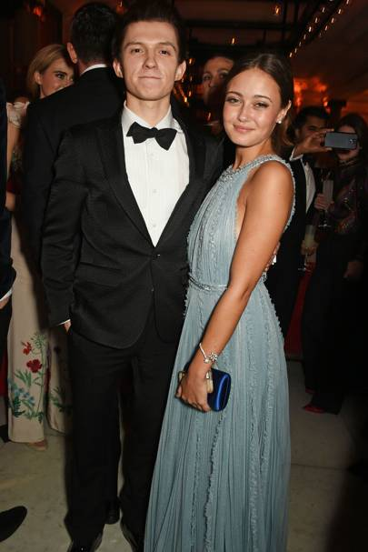 Tom Holland and Ella Purnell