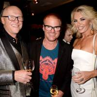 John Caudwell, Heston Blumenthal and Claire Caudwell