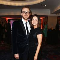 Simon Pegg and Maureen Pegg