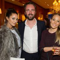 Roxie Nafoussi, Charlotte Strodl and Jonny Boud