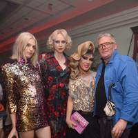 Andreja Pejic, Gwendoline Christie, Jodie Harsh and Giles Deacon