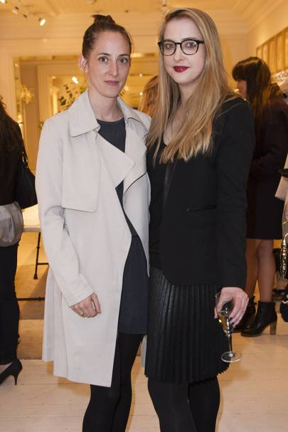 Poppy de Villeneuve and Daisy de Villeneuve