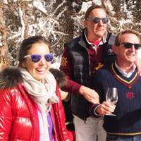 Amanda Sheppard, Count Filippo Guerrini-Maraldi and Fernando Rueda