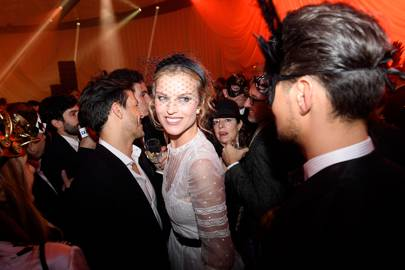Eva Herzigova at Christian Dior's Grand Ball