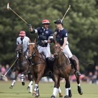 Malcolm Borwick and the Duke of Cambridge