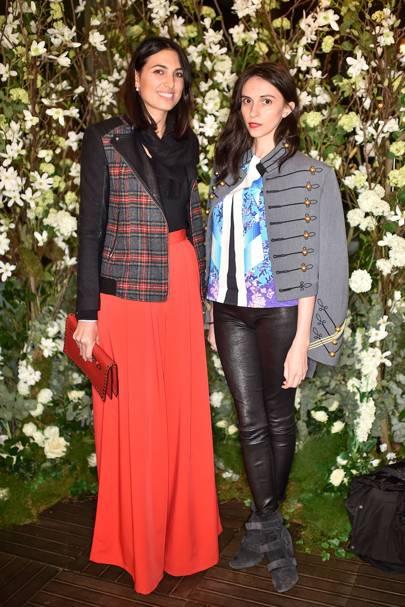 Frederica Fanari and Karolina Hicks