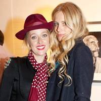 Matilda Temperley and Laura Bailey
