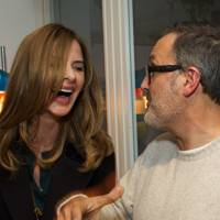 Trinny Woodall and Andrew Conrad