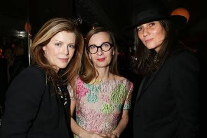 Virginie Mouzat, Anne Boulay and Emmanuelle Alt