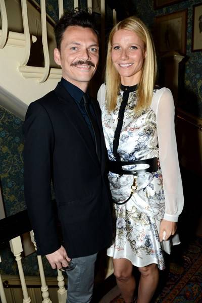 Matthew Williamson and Gwyneth Paltrow