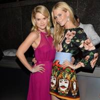 Alice Eve and Poppy Delevingne