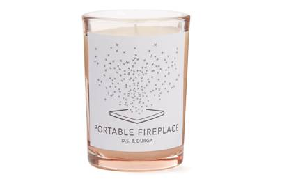 Portable Fireplace Candle, £58, DS & Durga