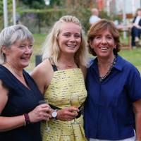 Jane Vose, Annabel Vose and Louise Morton