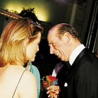Mrs Stephen Christie-Miller and the Duke of Kent