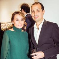 Narmina Marandi and Darius Sanai