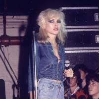 Debbie Harry performing in Blondie, 1978