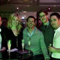 Mike Corruthers, Justine Wood, Paul Chudder, Scott Brady and Dan Belchers