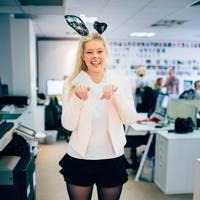 Francesca as a bunny