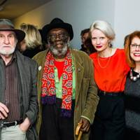 Neil Stokoe, Frank Bowling, Megan Piper and Sandra Higgins